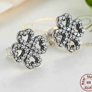 Jewelry - New - Four Leaf Clover Stud Earrings